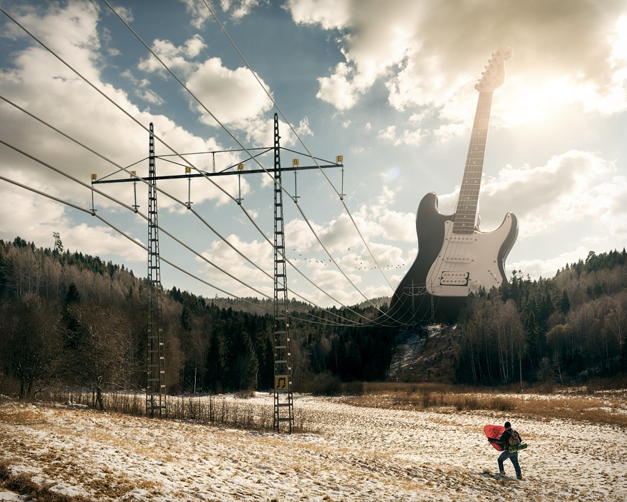 Electric Guitar © Erik Johansson