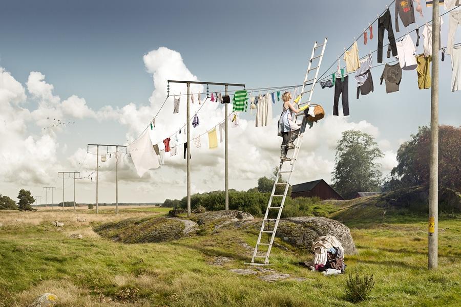Tvatt © Erik Johansson