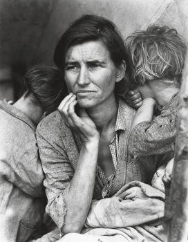 Dorothea Lange Migrant Mother, Nipomo, California, 1936