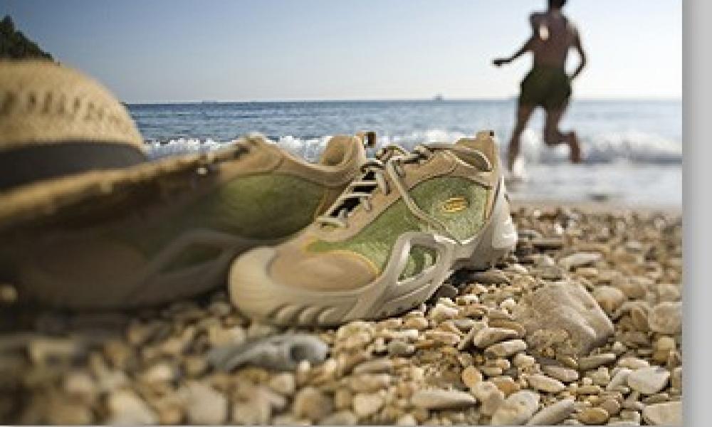 Urlaubsszene in La Spezia, Ligurien, Italien