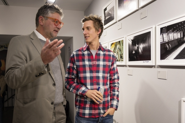 at Gregor Schlierenzauer Exhibition in Vienna, Austria on Oktober 30th, 2012
