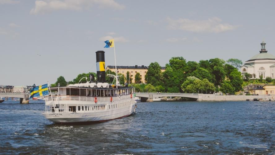 Stockholm im Sommer