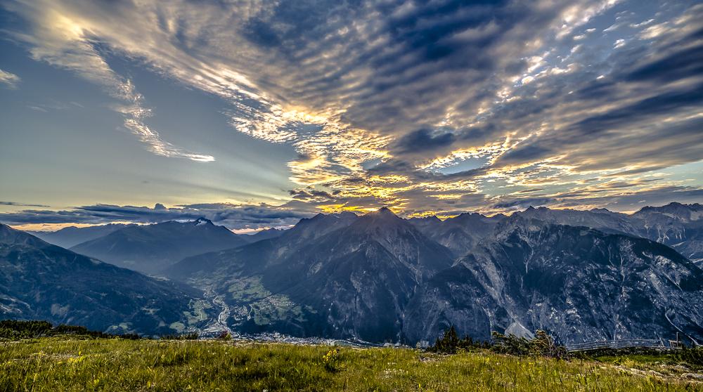Abendstimmung in Tirol