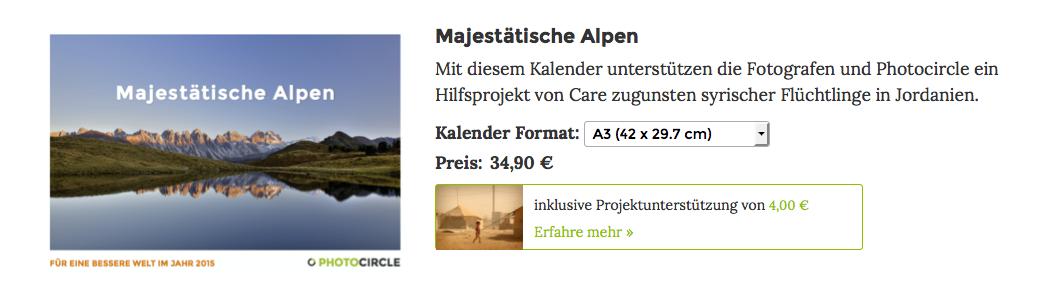 Alpen-Kalender