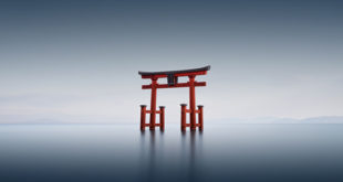 Japan----Torii-III,-Shirahige,-#2689-Biwa-Lake,-Shiga-Prefecture,-Japan-2016