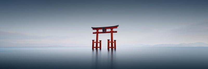Japan----Torii-III,-Shirahige,-#2689-Biwa-Lake,-Shiga-Prefecture,-Japan-2016